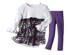 Tunic & Leggings Set - Purple (4-6X)
