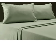 650TC 6-Pc Sheet Set-Dusty Blue-2 Sizes