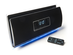 Clock Radio w/Bluetooth Streaming Audio