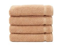 700GSM Herringbone Hand Towels S/4-3 Colors