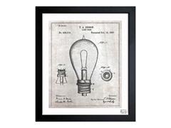 Edison Lamp Base 1890 (3 Sizes)
