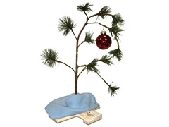 "Peanuts 24"" Charlie Brown Tree with Music"