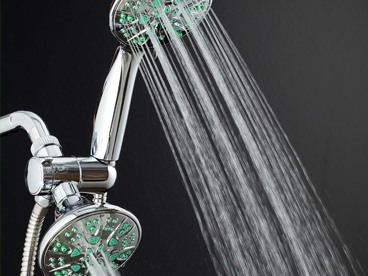AquaDance Anti-Microbial Shower Heads