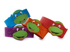 TMNT Rubber Bracelets - All Four!