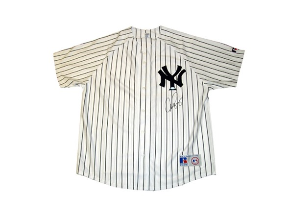 best quality 04a7b 23cc9 Alex Rodriguez Signed Yankees Jersey