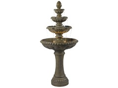 Edisto Fountain, Tuscan Earth Finish