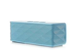Bluetooth Stereo Speaker w/ Mic - Blue