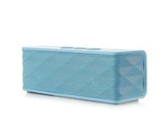 Bluetooth Stereo Speaker w/ Mic - Blue