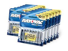 Rayovac AAA Alkaline Batteries - 96 Pack