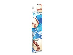 Peel & Stick Growth Chart - Baseball