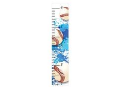 Peel & Stick Growth Chart - Baseball