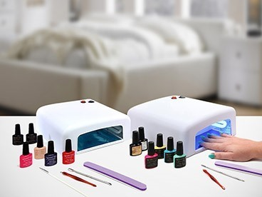 UV Dryer and Gel Kits and Brushes
