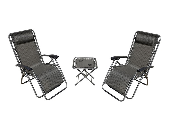 Akari Zero Gravity Chairs With Table Furniture Set