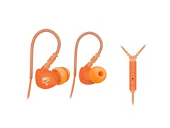 M6P In-Ear Sport Earbuds w/Mic - Orange