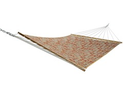 Double Quilted Hammock, Cayenne Paisley