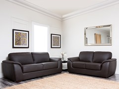 Avenue Sofa & Loveseat Leather Set