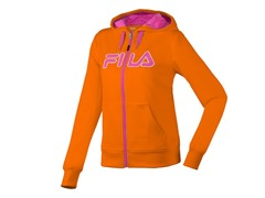 Fila Women's Performance Hoody, Orange