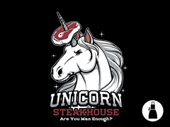 Unicorn Steakhouse Apron