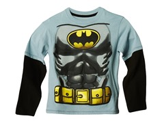 Batman Long Sleeve Tee - Grey (2T-7)