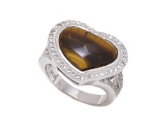 Tiger Eye Gemstone Ring