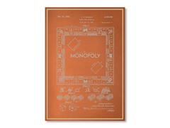 "Blueprints Darrow Monopoly Poster 18"" x 24"""