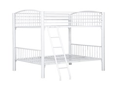 White Econo Bunk Bed- Twin or Full