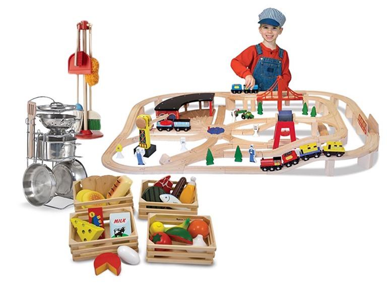Melissa & Doug Railway or Pretend Play