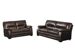 West Elah Premium Leather Sofa & Loveseat