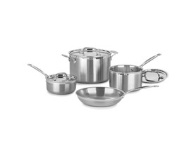 Cuisinart  7 Pc. MultiClad Pro Triple Ply Stainless Set