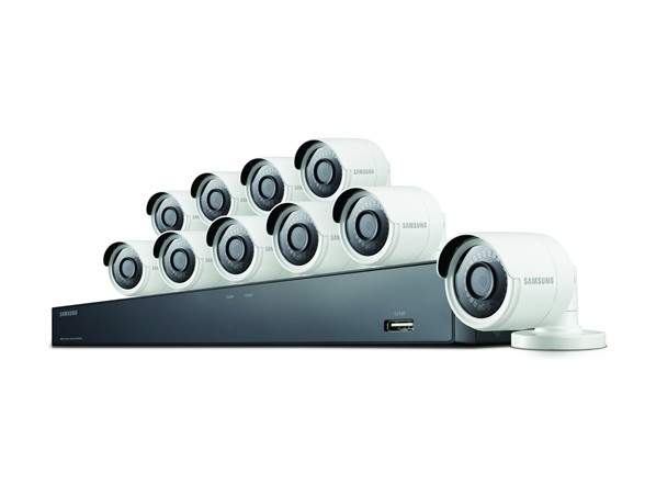 Samsung Wisenet All-in-One 16 Channel 4 MP Security System