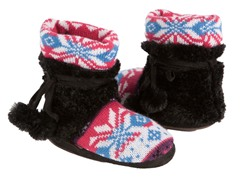 Nordic Fur Lined Slipper Boot