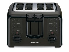 4-Slice Toaster- Black