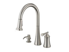 Giorgino Kitchen  Faucet, Brushed Nickel