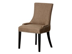 Arianna Linen Nailhead Trim Dining Chair