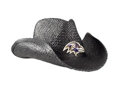 NFL Cowboy Hat - Ravens