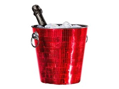 Oggi Champagne Bucket - Red