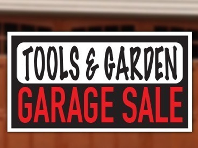 One Day Garage Sale Blowout