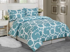 Rhys Duvet Set-Dusty Blue-2 Sizes