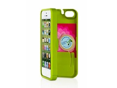 iPhone 5 Case w/Hinged Back - Chartreuse