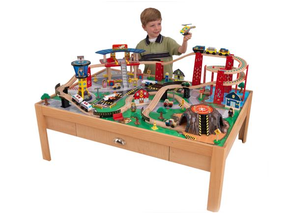 KidKraft Airport Express Train Table Set  Kids & Toys