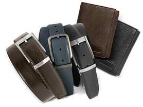 Van Heusen Wallets and Belts-Your Choice
