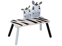 Zebra Long Bench