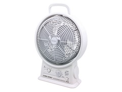 "Rechargeable 15"" Cooling Fan with Radio"