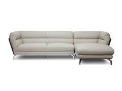 Quall Gray Modern Sectional