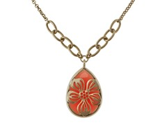 Relic RJ2351715 Gold Necklace with Raspberry