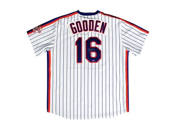 huge selection of 4b34a 1352f Dwight Gooden Mets Signed Jersey
