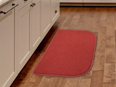 Burgundy Kitchen Retreat Mat