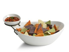 Style Setter Bathtub Shape Chip & Dip Bowl