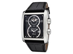 Raymond Weil Men's Black Leather Watch