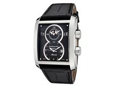 Raymond Weil Men's Black Leather Watch